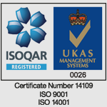 ISOQAR - Accreditation Logo
